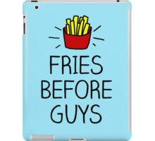 fries before guys - in living color iPad Case/Skin