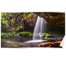 Late Afternoon at Lower Kalimna Falls Poster