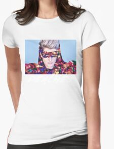 peaches music singer Womens Fitted T-Shirt