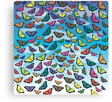 Colorful Butterflies Canvas Print