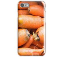 Natural looking carrots iPhone Case/Skin