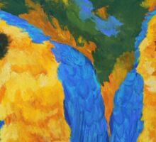 Macaw Mates Sticker