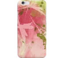 abstract pinkgreen iPhone Case/Skin