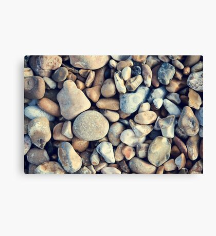The Stones Beneath My Feet Canvas Print