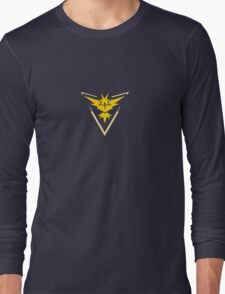 Team Instinct (Pokemon Go) Long Sleeve T-Shirt