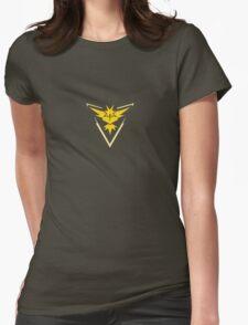 Team Instinct (Pokemon Go) Womens Fitted T-Shirt