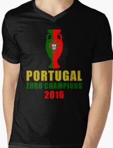 Champions Euro Mens V-Neck T-Shirt