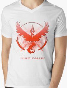 Pokemon Go - Team Valor Mens V-Neck T-Shirt