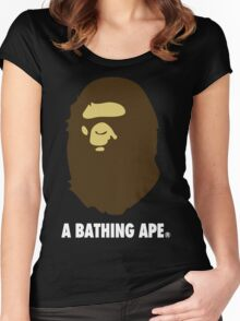 Bape Women's Fitted Scoop T-Shirt