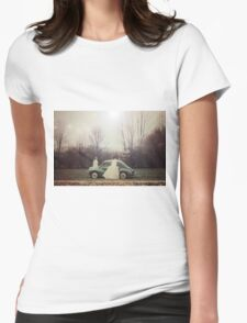 Two nymphes Womens Fitted T-Shirt