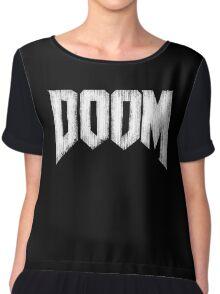 Doom Grunge Chiffon Top