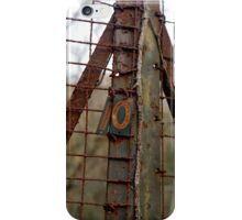 Rusted Number Ten iPhone Case/Skin