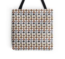 The animals of the order Primates Tote Bag