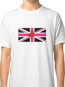 Union flag [leather girl pride] Classic T-Shirt