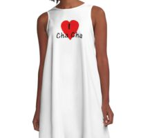 I Love Cha Cha - Dance T-Shirt A-Line Dress