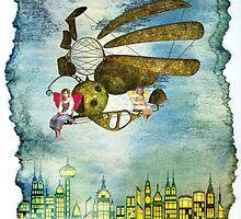 Fairies Ride by amira