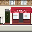 Speedy's Cafe by fangirlshirts