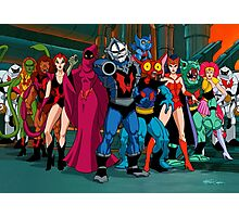 The Evil Horde Filmation Style Photographic Print