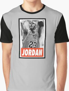 (BASKETBALL) Michael Jordan Graphic T-Shirt