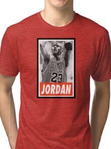 (BASKETBALL) Michael Jordan Tri-blend T-Shirt