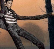 Slender Man Elvis Sticker