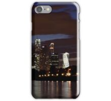 night time view iPhone Case/Skin