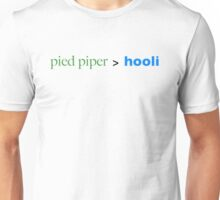Pied Piper > Hooli (Silicon Valley) Unisex T-Shirt