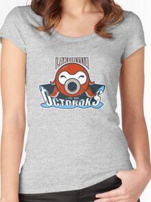 Lake Hylia Octoroks - Team Zelda Women's Fitted Scoop T-Shirt