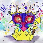 Majora Pikachu by littlemissfox