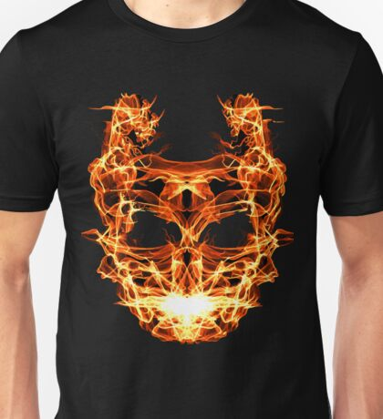 Fiery Monster Unisex T-Shirt
