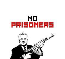 No Prisoners Kalashnikov AK47 Photographic Print