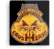 Death Mountain Crushers - Team Zelda Metal Print