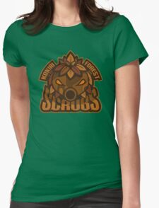 Kokiri Forest Scrubs - Team Zelda Womens Fitted T-Shirt