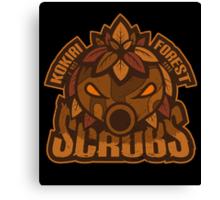 Kokiri Forest Scrubs - Team Zelda Canvas Print