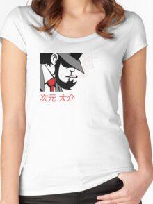 jigen Women's Fitted Scoop T-Shirt