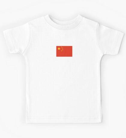 Chinese Flag Dress Kids Tee