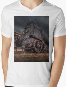 Old Steel Mens V-Neck T-Shirt