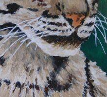 Clouded Leopard Sticker