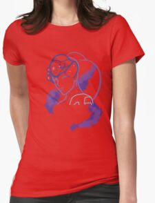 Spider's  gaze Womens Fitted T-Shirt