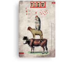 Animal Collection by Elo -- Together Canvas Print