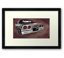 Touch of Class Framed Print
