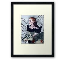 from porcelain Framed Print