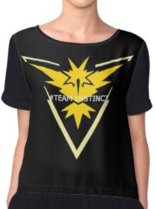 #Team Instinct Chiffon Top