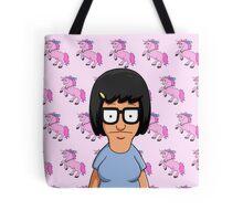Tina Belcher Unicorn Pattern Pink Tote Bag