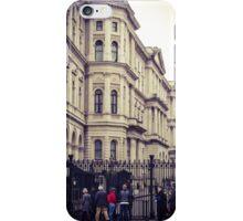 London classic street scene iPhone Case/Skin