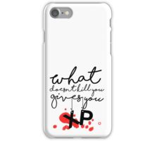 GAMER - What doesn't kill you gives up XP iPhone Case/Skin