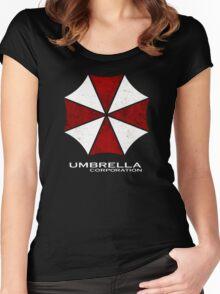 -GEEK- Umbrella Corporation Women's Fitted Scoop T-Shirt