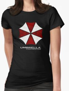 -GEEK- Umbrella Corporation Womens Fitted T-Shirt