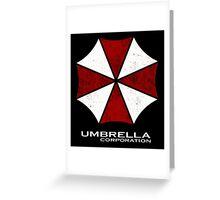 -GEEK- Umbrella Corporation Greeting Card