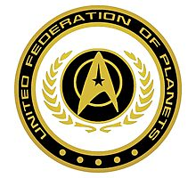 -MOVIES- United Federation Of Planets Photographic Print